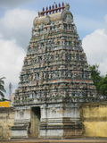 India. Sirkazhi temle. Gopuram. Stock Images