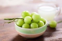 Indiańska agrestowa owoc i sok Zdjęcie Stock