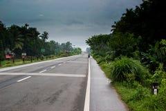 Indiańska autostrada Fotografia Royalty Free