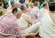 Indiańska ceremonia Fotografia Royalty Free