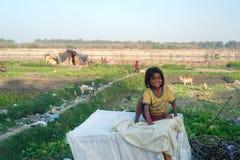 Indiańska dziewczyna Fotografia Stock