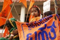 Indiańska dziewczyna Obraz Stock