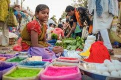 Indiańska dziewczyna Zdjęcia Stock
