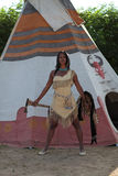 Indiańska kobieta Fotografia Stock