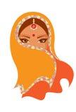 Indiańska kobieta Zdjęcia Royalty Free