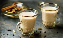 Indiańska masala herbata Fotografia Stock