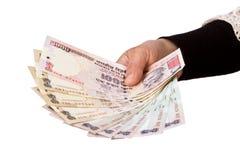 Indiańska rupia Obrazy Royalty Free