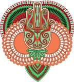 Indiańska Sztuka Obrazy Royalty Free