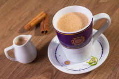 Indiańska tajlandzka herbata Fotografia Royalty Free