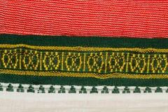 Indiańska tkanina Zdjęcie Stock