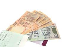 Indiańska waluta Obrazy Stock
