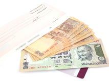 Indiańska waluta Zdjęcia Royalty Free