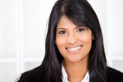 Indiański bizneswoman Zdjęcie Stock
