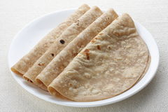 Indiański chlebowy chapathi. obrazy stock