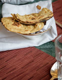Indiański chlebowy Tandoori Roti Zdjęcie Stock