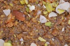 Indiański cukierki Anjeer barfi lub figi barfi Obraz Stock