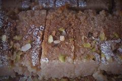 Indiański cukierki mleka tort Zdjęcia Stock