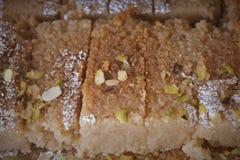 Indiański cukierki mleka tort Fotografia Stock
