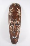 Indiański drewniany maskowy Costa Rica Zdjęcie Royalty Free
