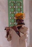 Indiański dudziarz Zdjęcia Royalty Free