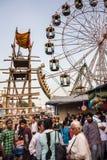 Indiański fairground Fotografia Stock