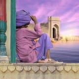 Indiański fort Obrazy Stock