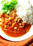Indiański jedzenie Zdjęcia Royalty Free