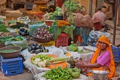 Indiański jedzenie rynek Obrazy Royalty Free