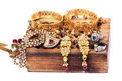 Indiański jewellery Obrazy Royalty Free