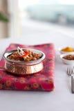 Indiański Karmowy Chickpea curry Channa Masala Zdjęcie Royalty Free