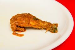Indiański korzenny curry'ego kurczak Masala Zdjęcie Royalty Free