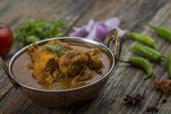 Indiański kurczaka curry lub kadai kurczak Zdjęcie Royalty Free