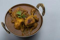Indiański kurczaka curry lub kadai kurczak Zdjęcia Royalty Free