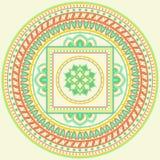 Indiański mandala Obraz Royalty Free