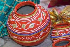 Indiański miotacz Fotografia Stock