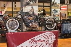 Indiański motocyklu podwozia projekt 2015 Obrazy Stock