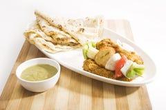 Indiański naczynie Kathi Kebab Obrazy Stock