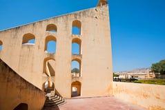 Indiański obserwatorium Jantar Mantar Zdjęcie Royalty Free