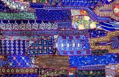 Indiański patchworku dywan obrazy stock
