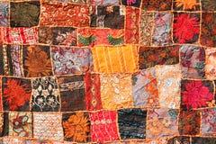 Indiański patchworku dywan Obraz Royalty Free