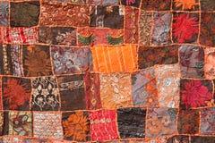 Indiański patchworku dywan Zdjęcie Stock
