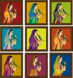 Indiański Queen/princess portret Fotografia Stock
