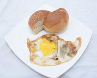Indiański ranku jedzenie Fotografia Stock