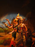 Indiański tancerz wykonuje klasycznego tana Zdjęcie Stock
