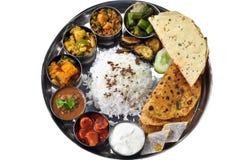 Indiański Thali Fotografia Stock