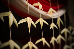 Indiański tradycyjny koks opuszcza dekoracje Obraz Stock