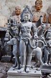 Indiańskie bóg statuy zdjęcia royalty free