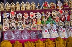 Indiańskie bóg statuy obraz royalty free