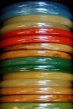 Indiańskie kolorowe bransoletki Obrazy Royalty Free