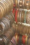 Indiańskie kolorowe bransoletki Obraz Stock
